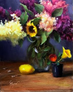 Summer Flowers by artist Pat Meyer