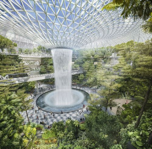 Heatherwick Reportedly Prevails in Competition for Airport Super-Terminal in Singapore