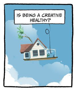 Floating houses and random thoughts