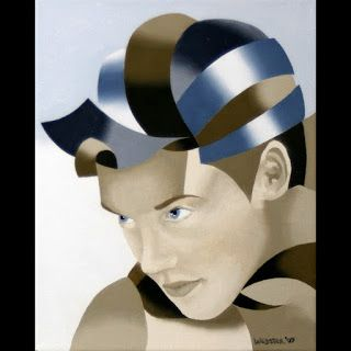 Mark Webster - The Bronze Age Abstract Oil Painting Series 8
