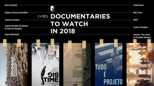 Architecture Documentaries to Watch in 2018