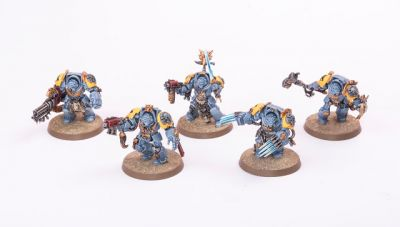 Showcase: Space Wolves Wolf Guard Terminator Squad