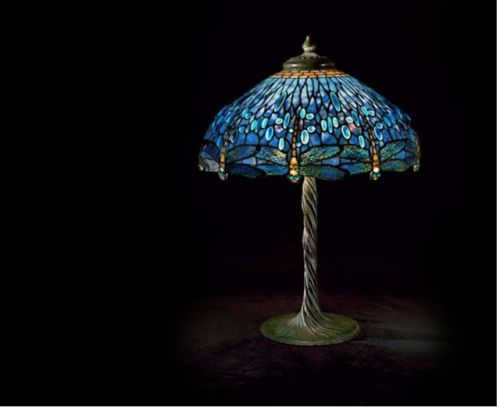 Louis Comfort Tiffany. Born on this day in 1848