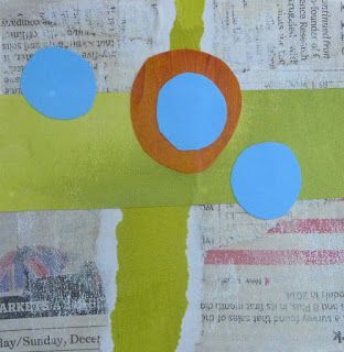 COLLAGE No. 4 by Linda Popple