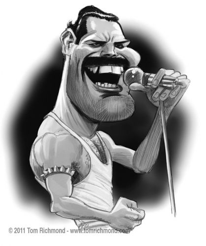 Sketch o'the Week- Flashback Freddie!