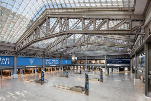 Moynihan Train Hall / SOM