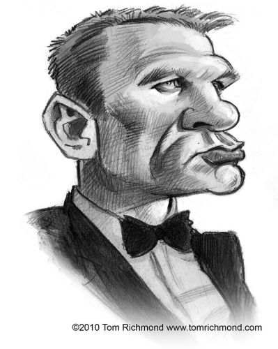 Sketch o'the Week- Daniel Craig!