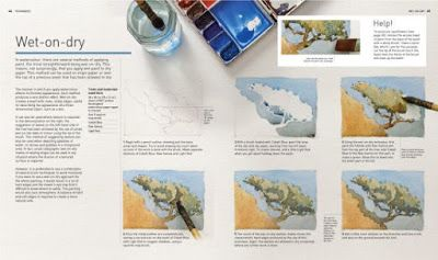 "David Webb's book ""Painting in Watercolor"""