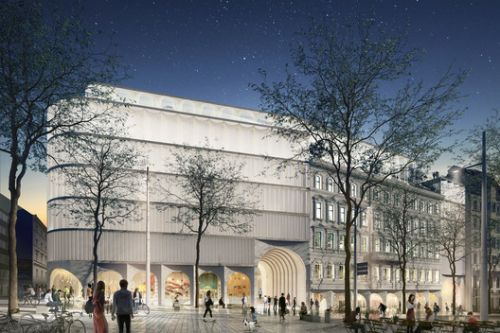 OMA Wins Competition to Create The New KaDeWe Department Store in Vienna