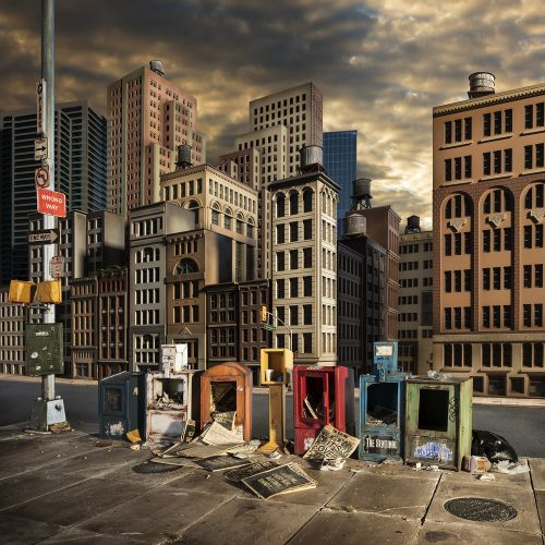 New Miniature Post-Apocalyptic Environments by Lori Nix and Kathleen Gerber