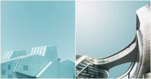 Photo-Series Provides an Abstracted Look at China's Iconic Architecture
