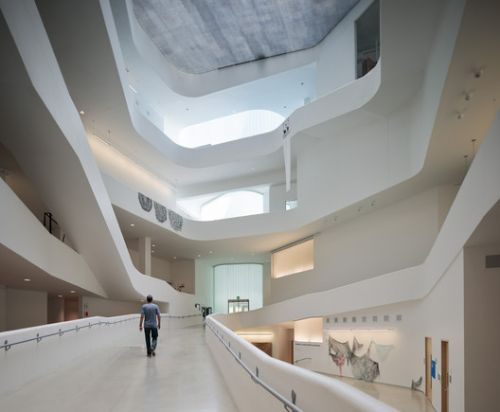 Steven Holl's University of Iowa Visual Arts Building Through the Lens of Aaron Dougherty