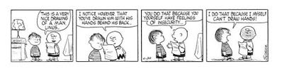 Wisdom from a Peanuts Cartoon