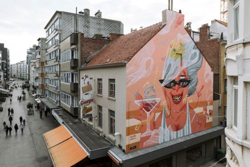Marina Capdevila for The Crystal Ship in Ostend, Belgium