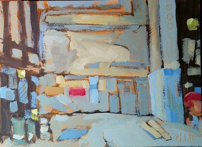 Abstract Art Contemporary Oil Painting Industrial