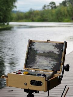 Plein Air Painting in Acrylics: My Equipment and Materials