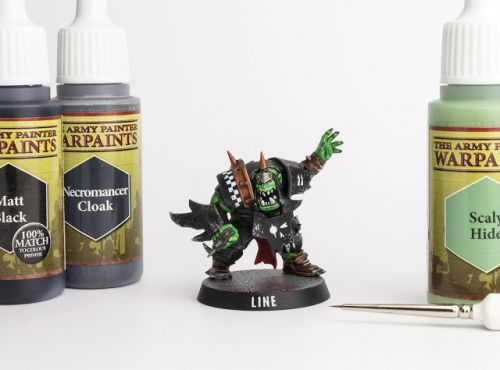 Tutorial: How to paint Goff Orks / Ironjawz / Blood Bowl The Gauged Eye