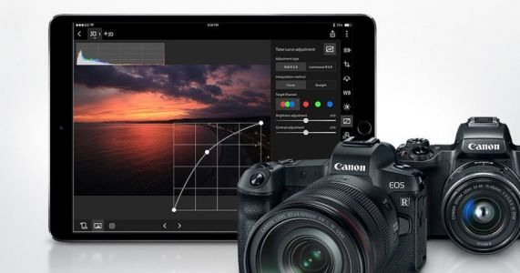 Canon Digital Photo Professional Express Does RAW Processing on iPads