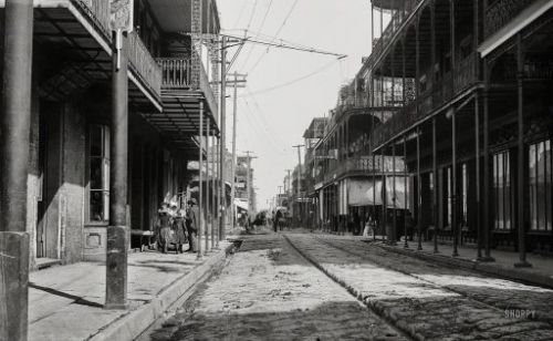 The French Quarter: 1890s