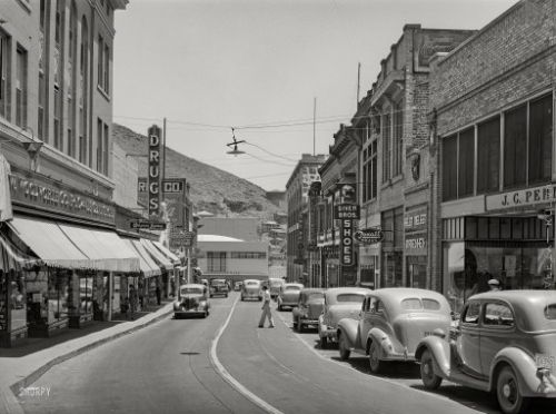 Busy Bisbee: 1940