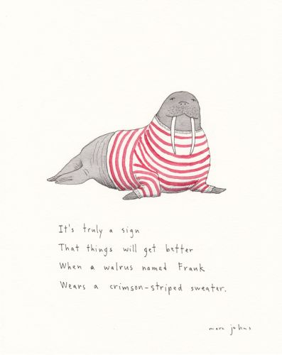 A walrus named Frank