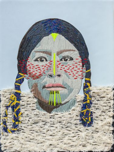 Richly Textured Portraits of Native Arctic Residents and European Explorers by Preta Wolzak