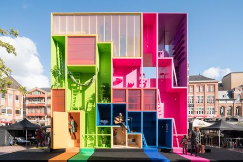 Expressive Polycarbonate: Creating Colored Translucent Facades