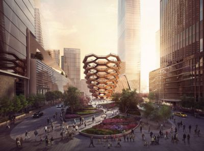 """What Will Thomas Heatherwick's """"Vessel"""" At Hudson Yards Really Add to New York?"""
