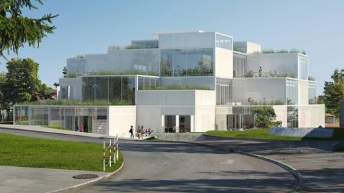 Sou Fujimoto Architects' Terracing Learning Center Wins Competition at University of St. Gallen in Switzerland