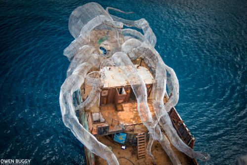 An 80-Foot Steel Kraken Will Create an Artificial Coral Reef Near the British Virgin Islands