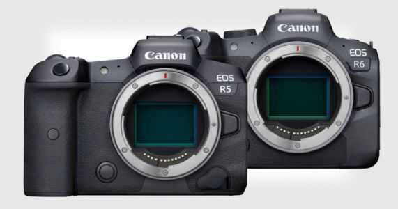 Canon Unveils EOS R5 and EOS R6 Full Frame Mirrorless Cameras