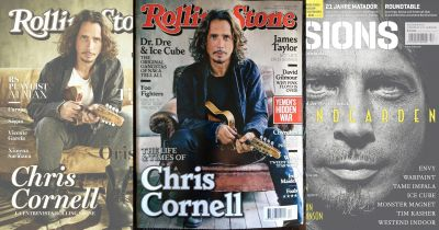 Who Shot It Better? Chris Cornell Portrait for Rolling Stone and Visions