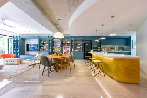 Colours of My Life Apartment / WY-TO architects