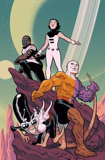 DC Comics The Terrifics Issue 25 variant cover