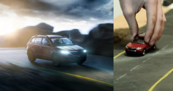 These Car Ads Were Shot with Toy Cars