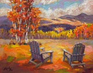 "New ""Relaxation Awaits"" by Contemporary Impressionist Niki Gulley"