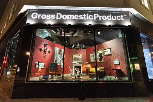 Gross Domestic Product: Banksy Opens a Dystopian Homewares Store