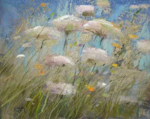 How to add Some BLING to Your Pastel Paintings