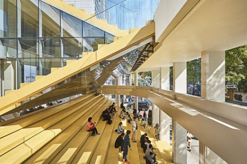 KB Youth Step / Faculty of Hongik University School of Architecture