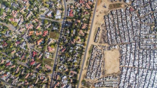 Social Inequality, As Seen From The Sky