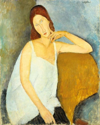 Amedeo Clemente Modigliani. Born on this day in 1884