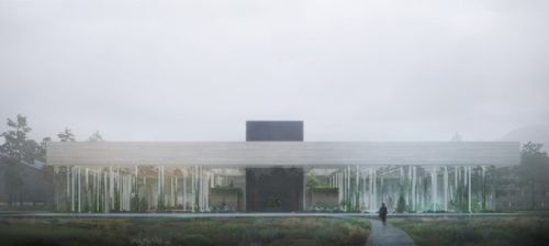 """Snøhetta Designs Sustainable Data Center as """"The Body and Brain of Future Cities"""""""