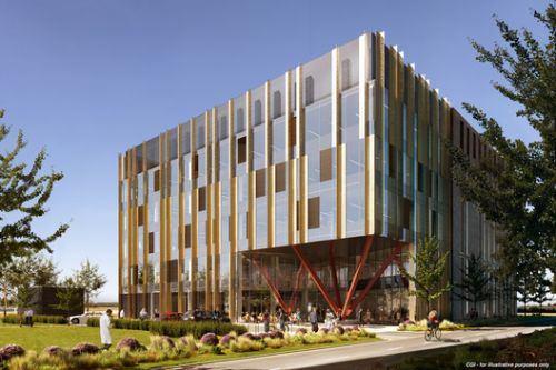 Scott Brownrigg's Cambridge Biomedical Campus Project Receives Planning Permission