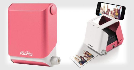 KiiPix is a $40 Analog Instax Printer for Smartphone Photos