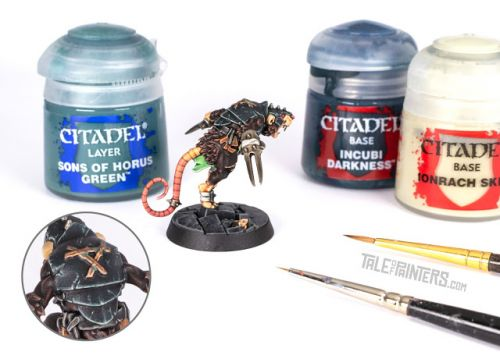 Tutorial: How to paint scratched petrol armour