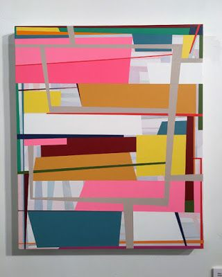 """Shake and Bake"" aesthetics in contemporary abstraction"