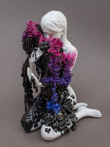 Sorrowful Sculptures Designed in a Three-Part Collaboration Meditate on Life, Loss, and Regeneration