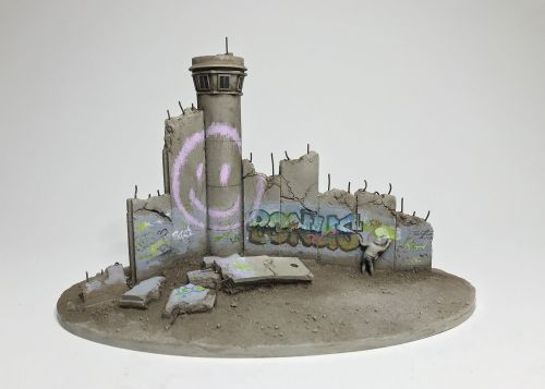 Banksy Releases New Miniature Walled Off Hotel Souvenir Series