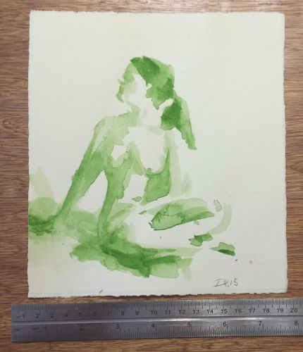 Watercolor Sketches Available and End of My DPW Page