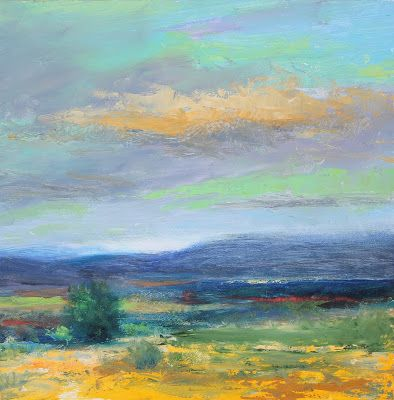 """Contemporary Landscape, """"Enchanted,"""" by Amy Whitehouse"""